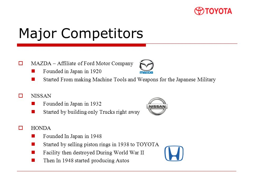 agenda about toyota kevin industry analysis
