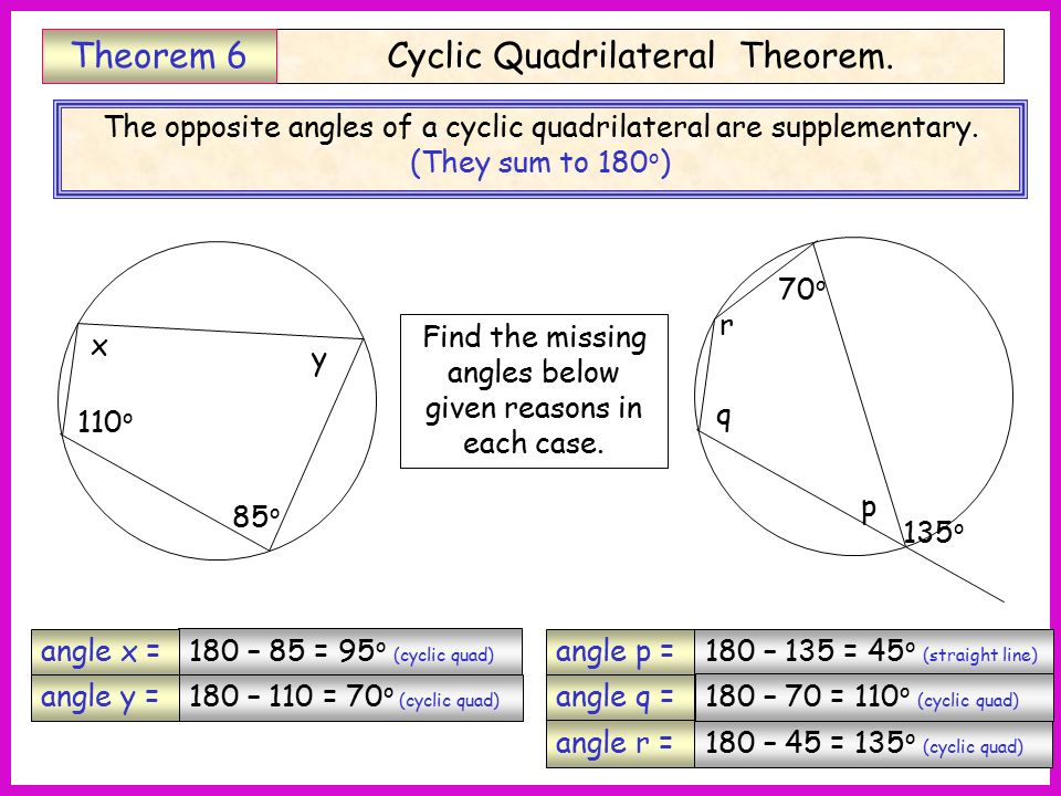 Circle theoram ppt video online download - Kuta software exterior angle theorem ...