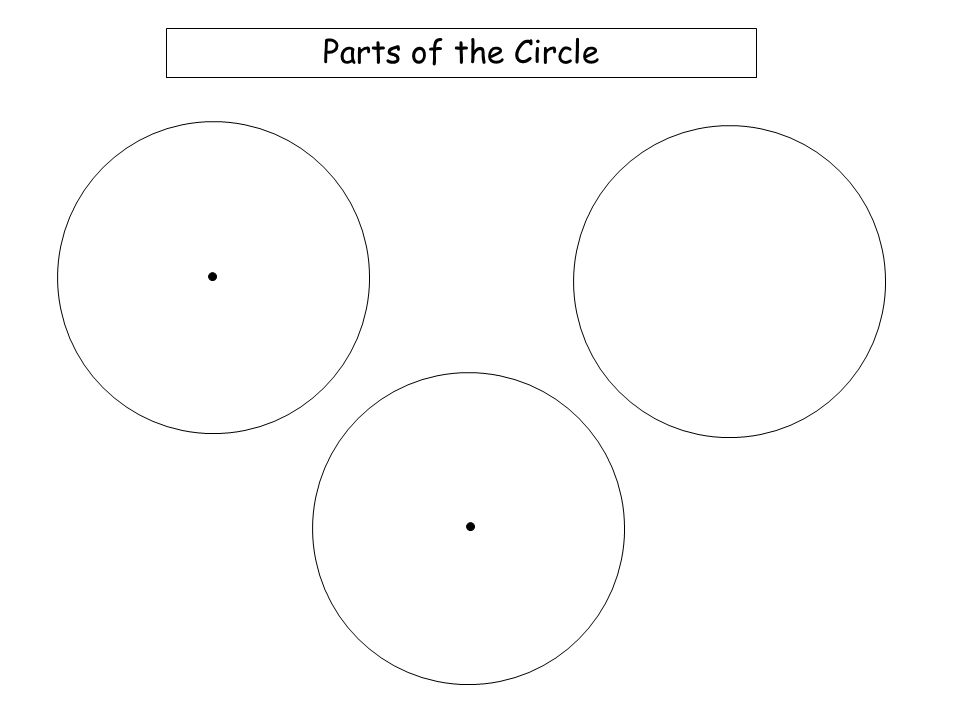 Circle Theoram ppt download – Parts of a Circle Worksheet