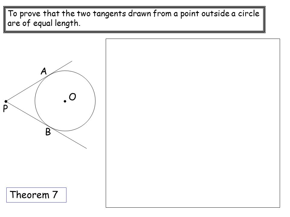 Circle Theoram ppt download – Tangents to Circles Worksheet