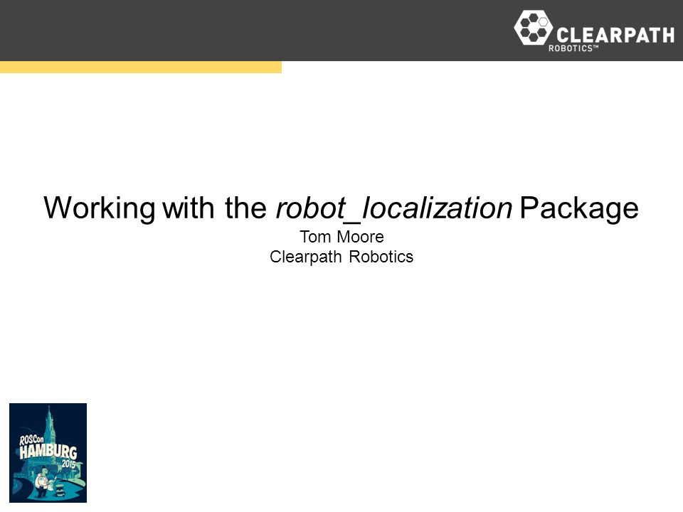Working with the robot_localization Package
