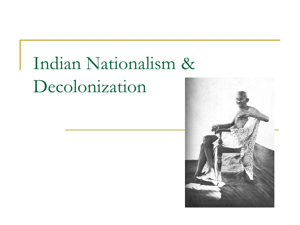 movement towards decolinization essay Movement - an act of changing location or position towards - moving or coming to a particular direction decolonization - to grant independence to a colony.