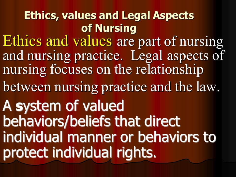 examine the relationship between ethics values and morals