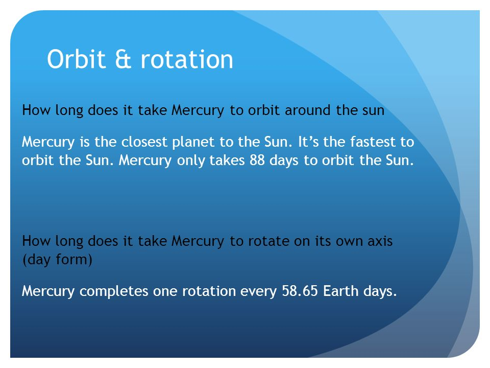 Mercury By: Ava Doskicz. - ppt video online download
