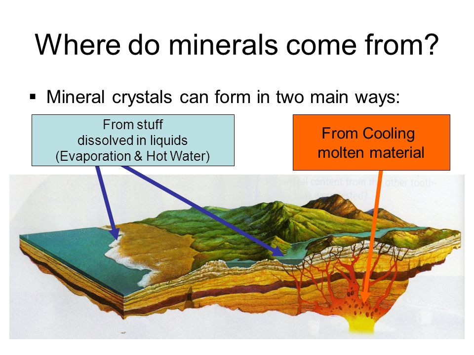 Mineral Formation. - ppt video online download