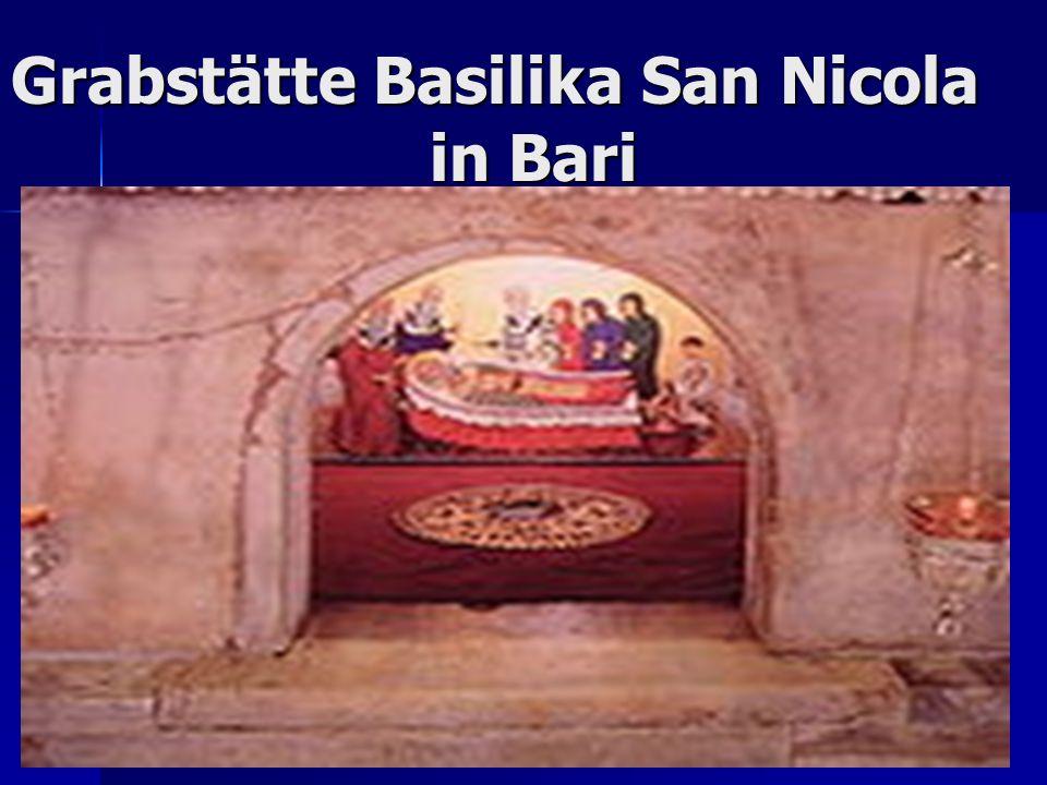 Grabstätte Basilika San Nicola in Bari