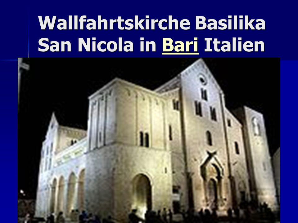 Wallfahrtskirche Basilika San Nicola in Bari Italien