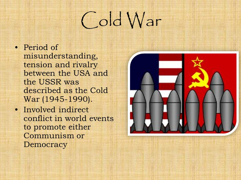 communism and cold war tension The tension between the united states and the soviet union was starting during the world war ll at the end of wwll, the united states and the soviet union was.