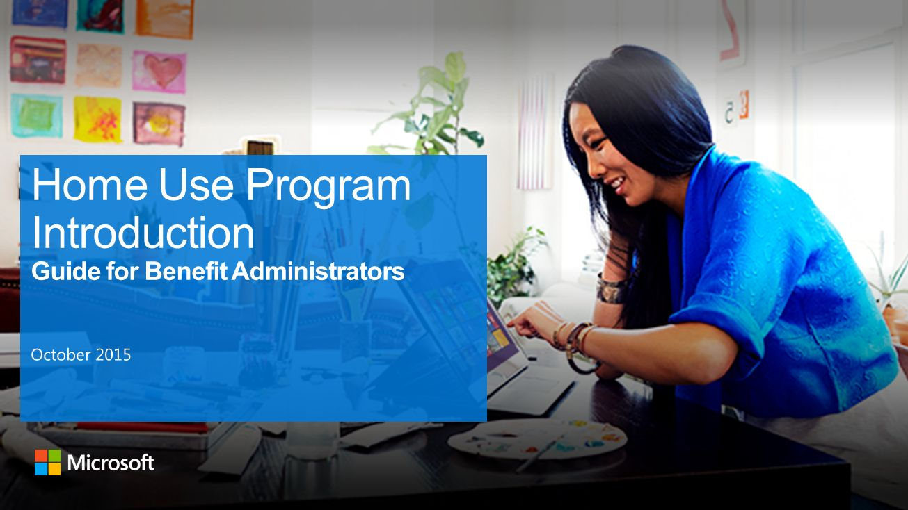 home use program introduction guide for benefit administrators - Microsoft Visio Home Use Program