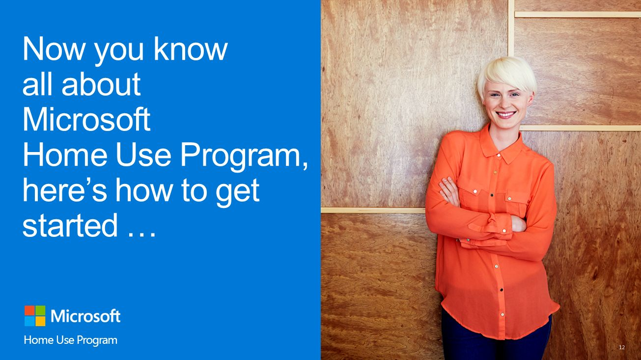 now you know all about microsoft home use program heres how to get started - Microsoft Visio Home Use Program