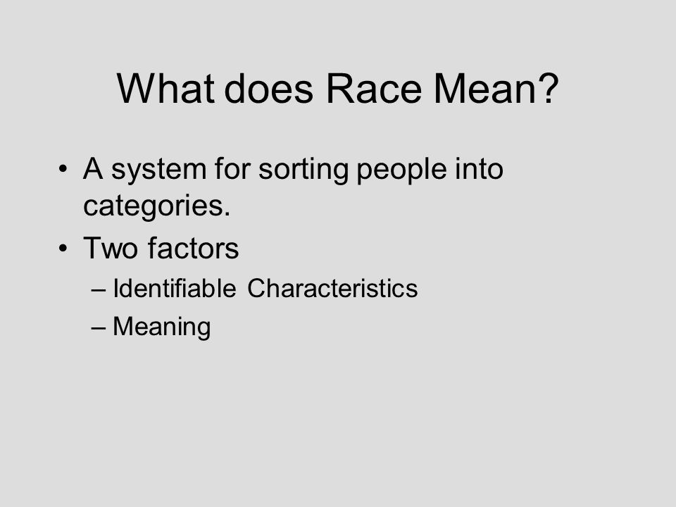 essay begin reading mama lola ppt video online  what does race mean a system for sorting people into categories