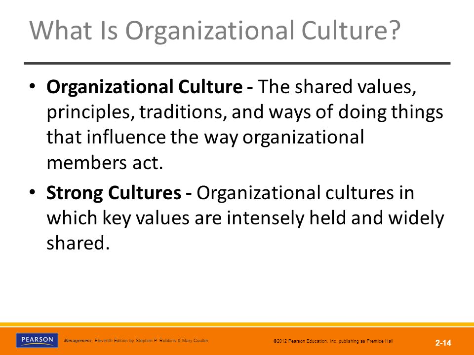 where does organizational culture come from Figure 72: where an organization's culture comes from where does organizational culture come from (cont) where does organizational culture come from.