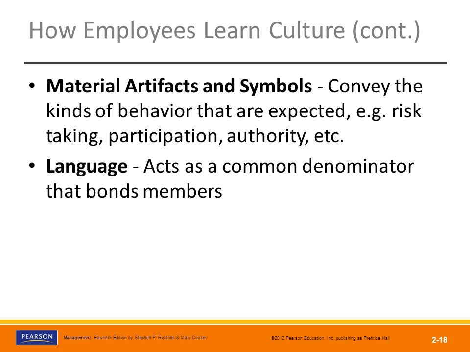 how employees learn culture You'll also need to ask questions to learn more about the company candidates should have their own set of questions early in your career, sometimes it can be intimidating bersin says, but he adds that there are many questions to help all levels of employees uncover the company culture question if the.