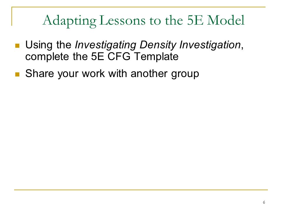 5e Model Template 7 Best Images Of 5e Lesson Plan Template 5e Model