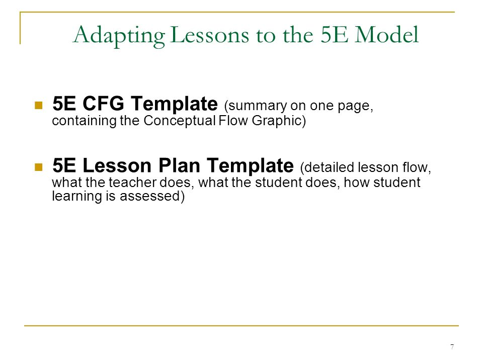5 e model lesson plan template - backwards design step 1 agree on the overarching science