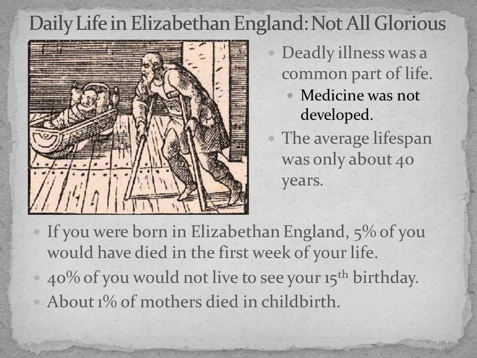 elizabethan health and medicine