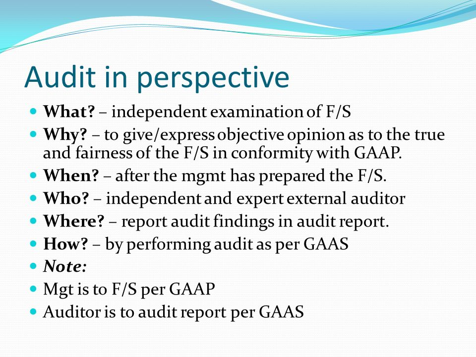 The Nature And Issues Of Audit  Ppt Video Online Download