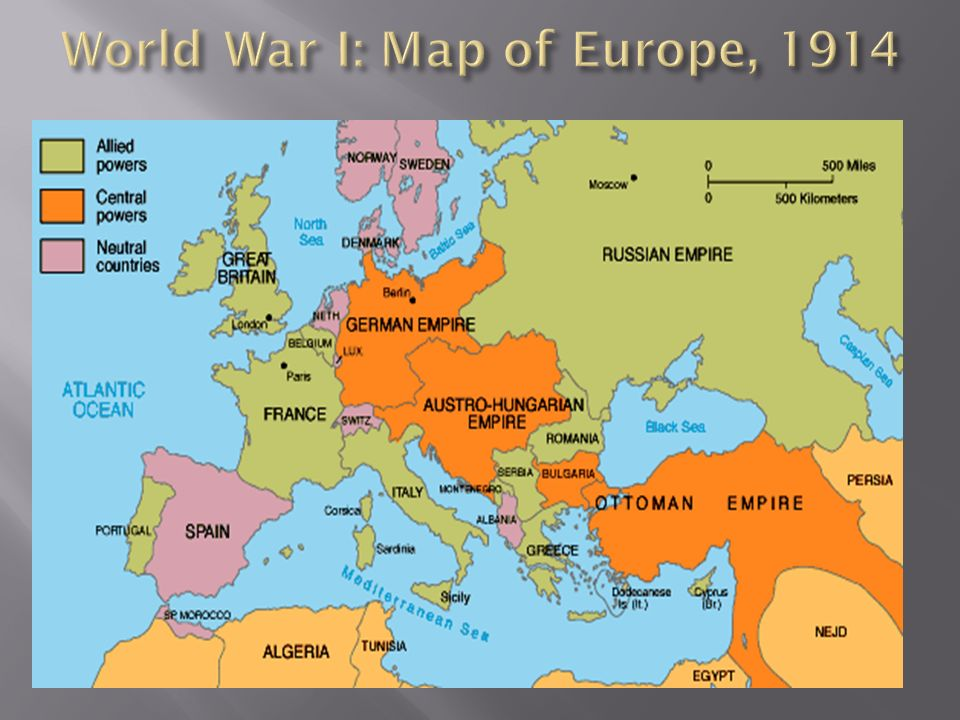 The Great War World War I ppt video online download