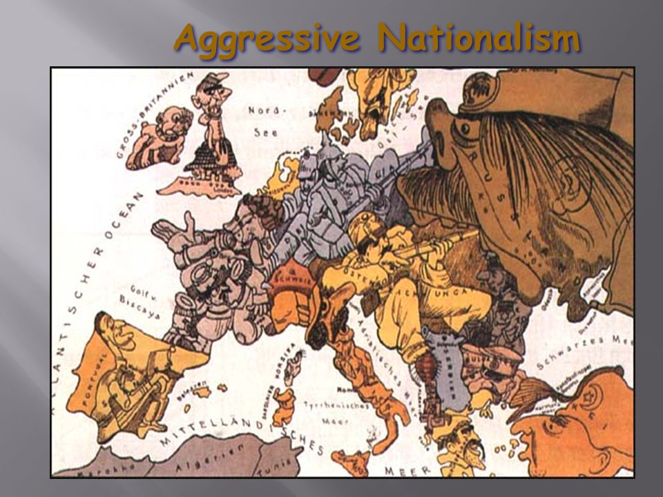 aggressive nationalism Nationalism can be defined as a sense of pride in a nation  aggressive  nationalism and militarism in germany would later add to increased tensions on  the.