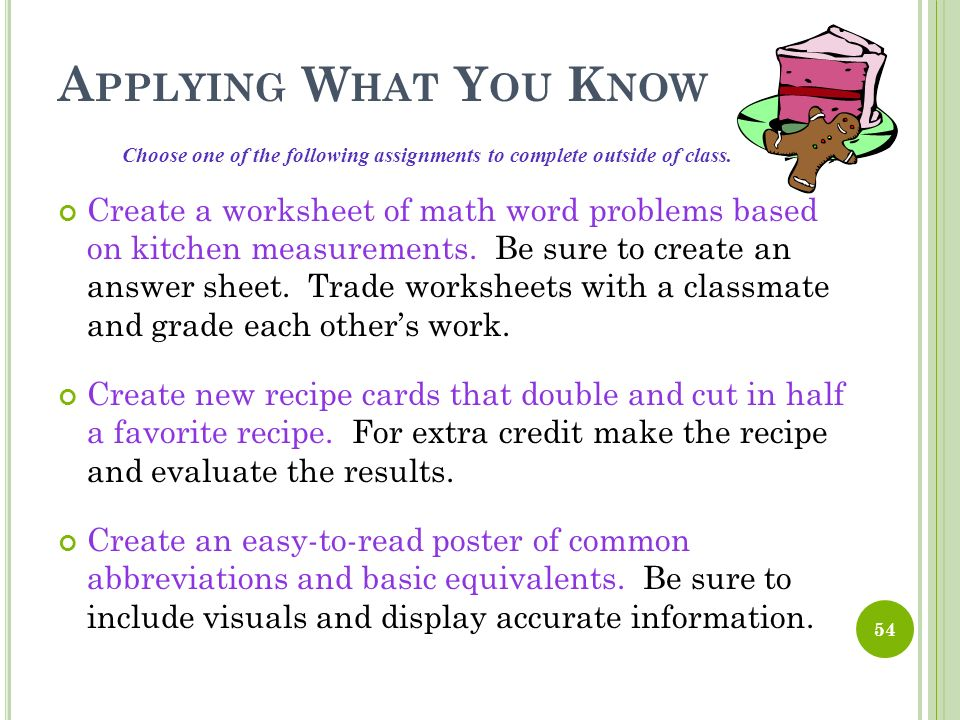 Intro To The Kitchen Culinary Arts Ppt Video Online