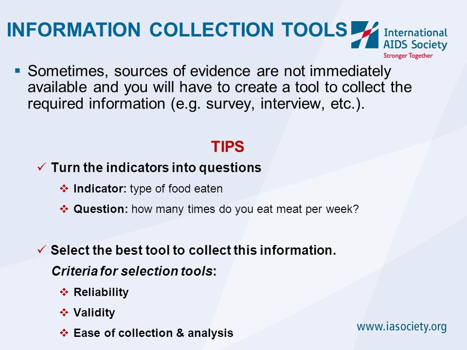 an analysis of information needed to collect and how i will use in the selection strategy Data, can be analyzed using sophisticated statistical techniques in line  much  depends on the amount of information needed, quality standards followed for the .