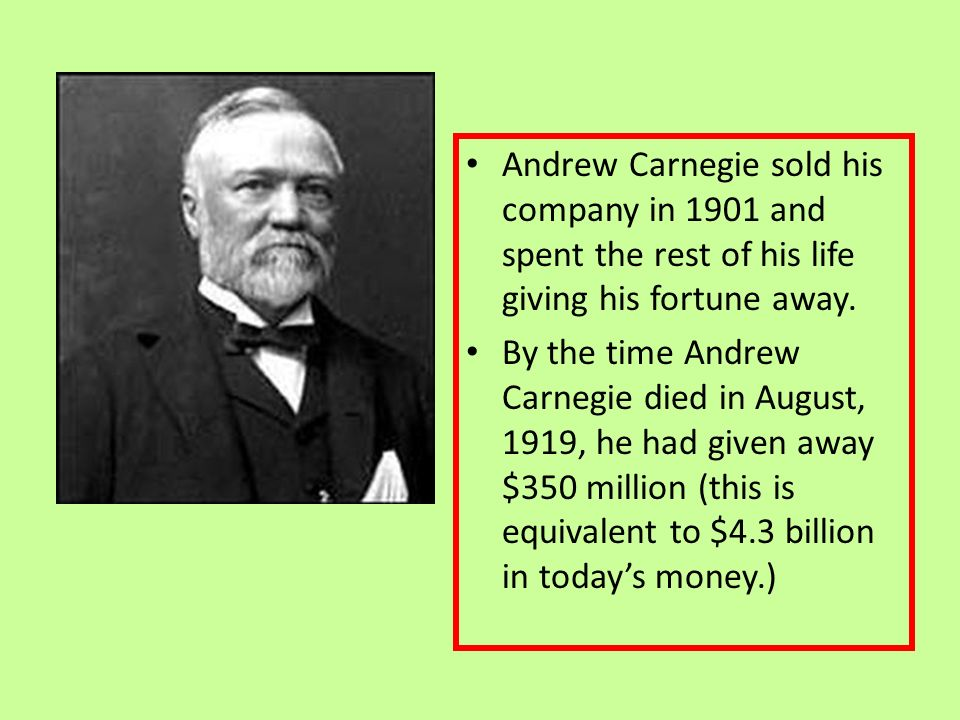 Was Andrew Carnegie a Hero? Essay