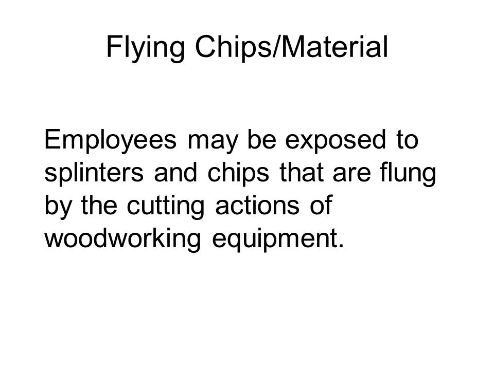 Flying Chips/Material