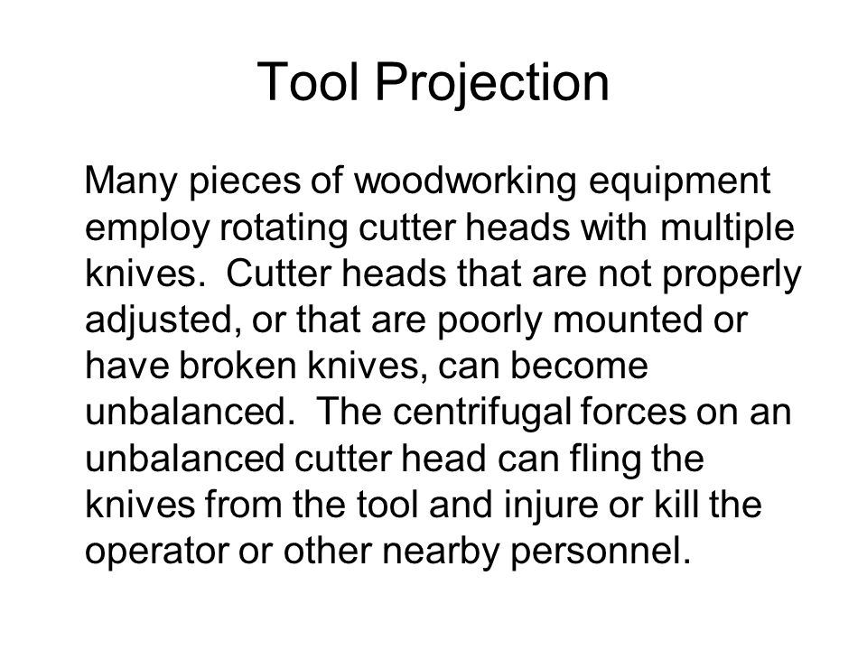Tool Projection