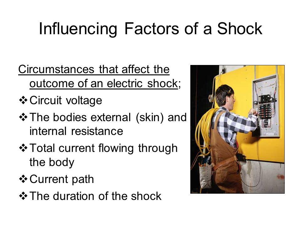 Influencing Factors of a Shock