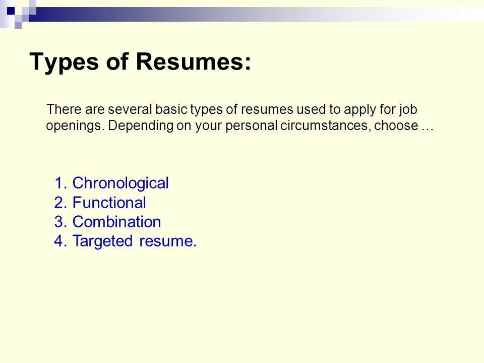 4 types of resumes tier brianhenry co