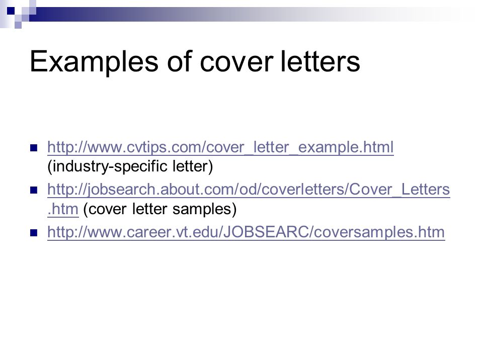 Cover letters and Resume ppt video online