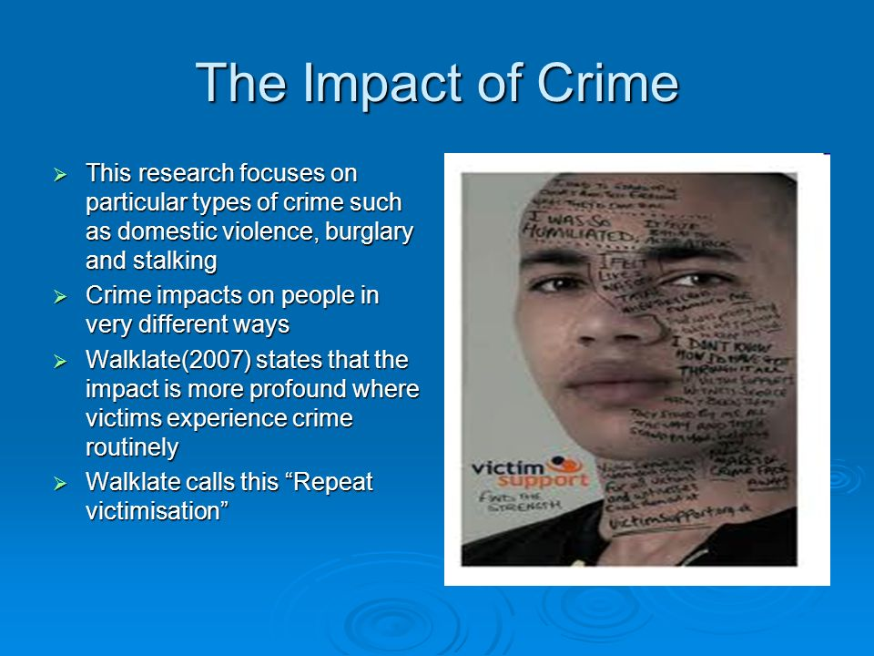 impact of it on individuals communities and society The impact of gun violence on children, families, & communities  while individuals killed and injured in atrocities such as the sandy hook and aurora theater .