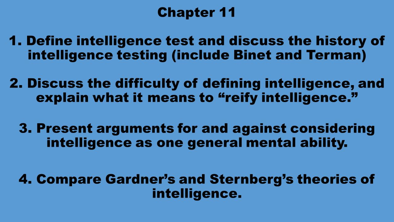 discuss one alternative to iq testing The role of genes and environment (nature and nurture) in determining iq has been debated for decades and the degree to which nature versus nurture influences the development of human traits (especially intelligence) is one of the most intractable scholarly controversies of modern times.