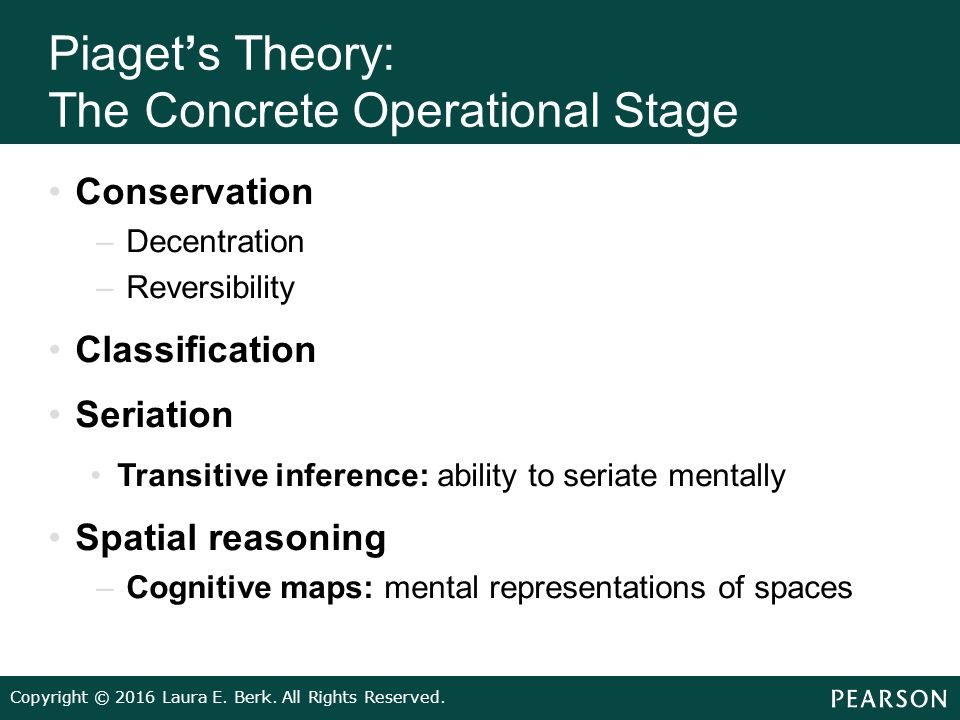 piaget cognitive theory and learning disabilities in children The cognitive learning theory explains why the brain is the most incredible  network  ineffective cognitive processes result to learning difficulties that can be  seen  can manifest not only in adults but also in infants, children and  adolescents.