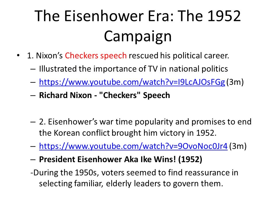 eisenhower and his political career essay Free dwight d eisenhower papers jobs under less than desirable supervisors protecting his career and positioning eisenhower, political/government.
