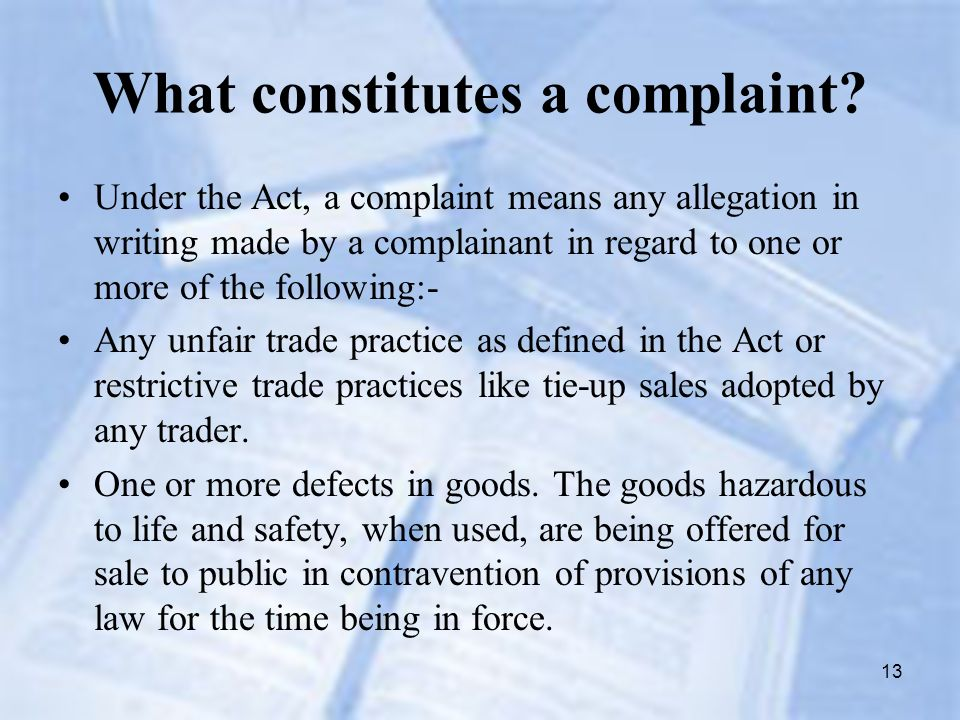 unfair trade practices Maine consumer law guide 3 - 3 § 3 3 what trade practices are unfair consumer protection statutes such as the maine unfair trade practices act should be liberally.