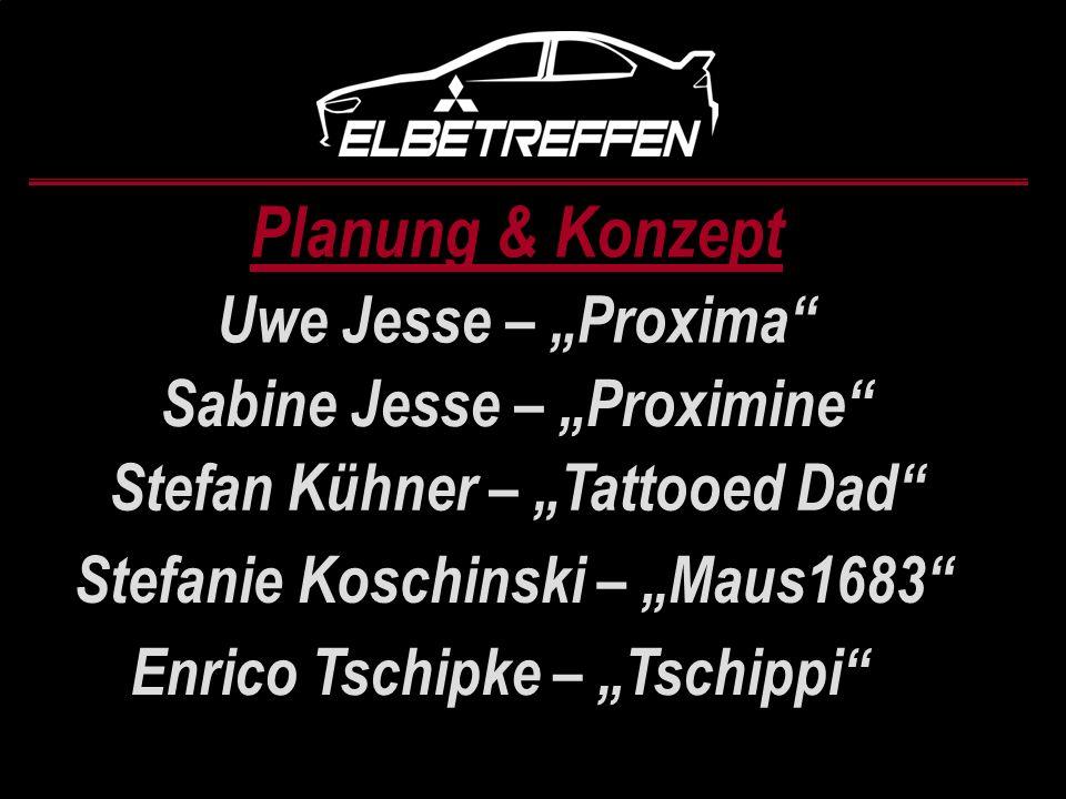 """Planung & Konzept Uwe Jesse – """"Proxima Sabine Jesse – """"Proximine"""