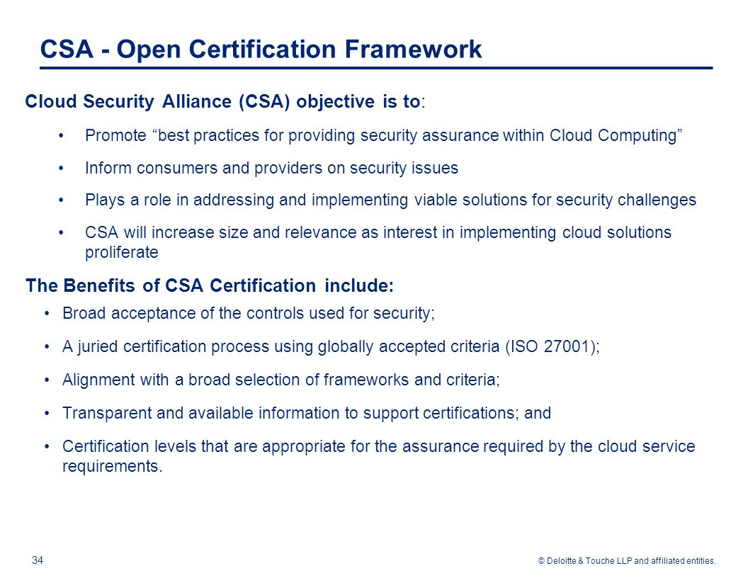 Agenda introduction iso family of standards ppt download 35 csa star certification 1betcityfo Choice Image