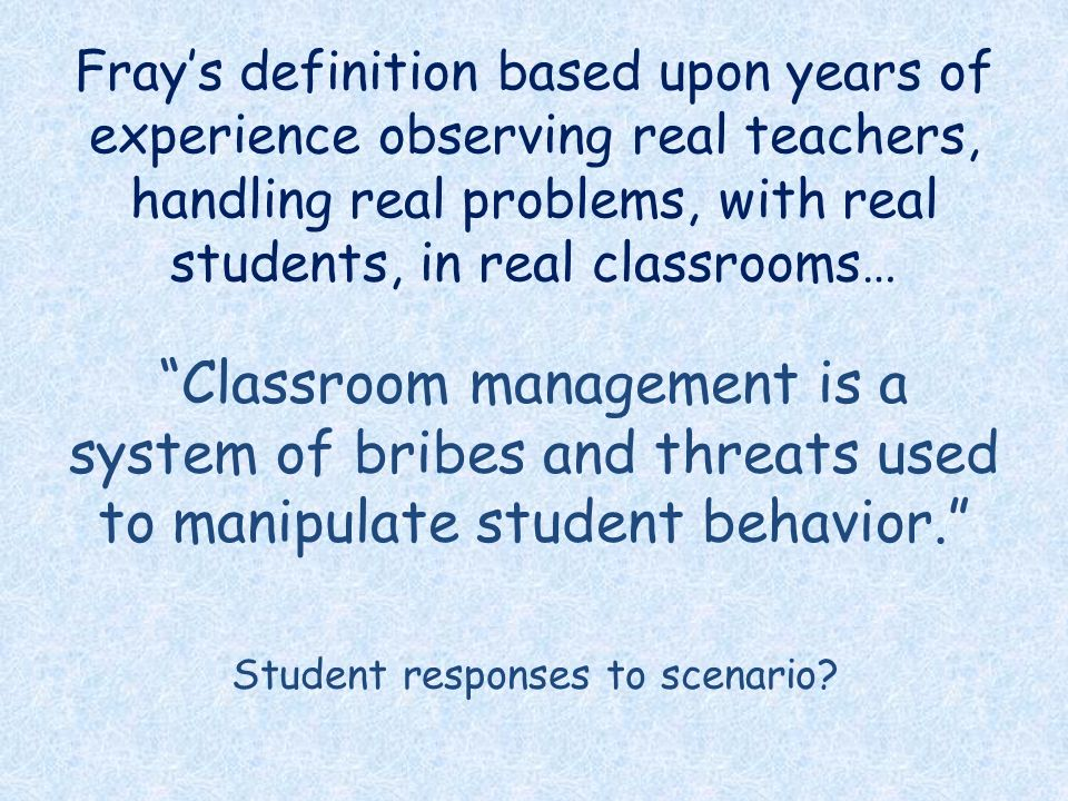 5 Student Responses To Scenario? Frayu0027s Definition ...