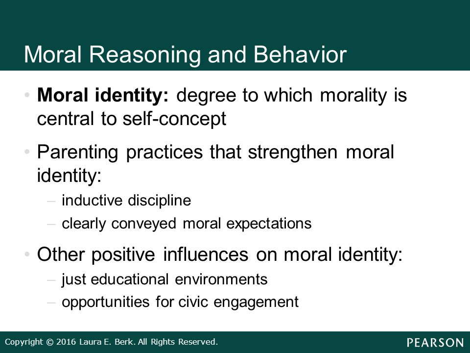 influence of moral reasoning essay Moral essay 3440 words | 14  development through a fixed sequence of increasingly adaptable kinds of moral reasoning  about law's influence on morals moral.