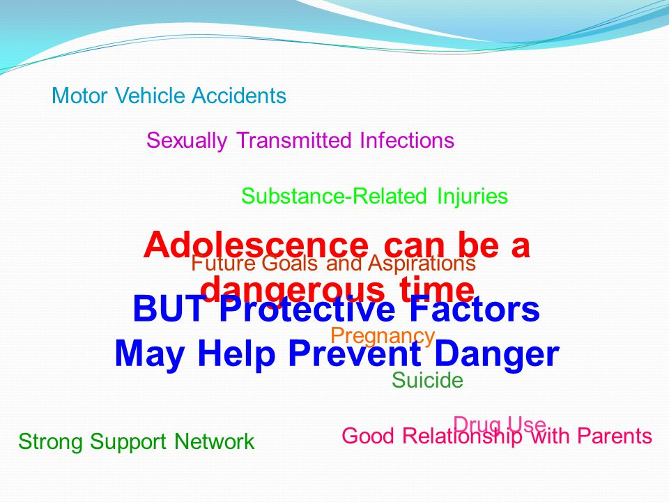 Adolescence can be a dangerous time