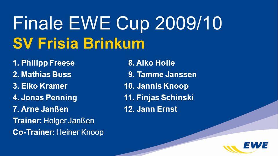 Finale EWE Cup 2009/10 SV Frisia Brinkum