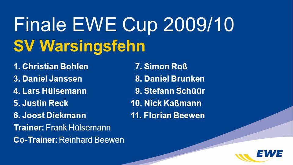 Finale EWE Cup 2009/10 SV Warsingsfehn