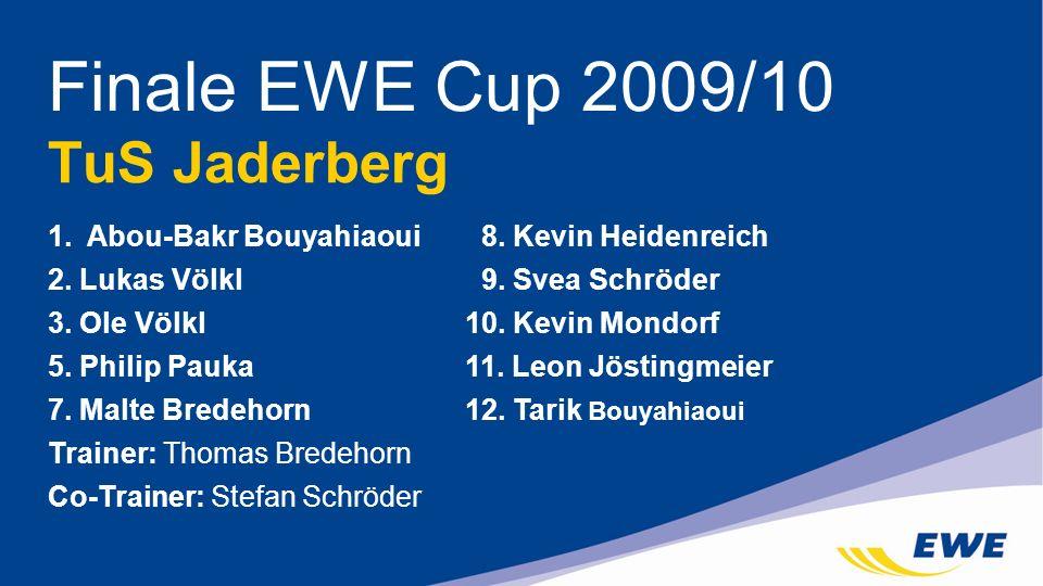 Finale EWE Cup 2009/10 TuS Jaderberg