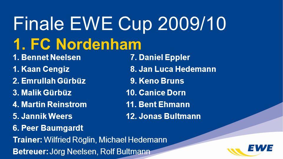 Finale EWE Cup 2009/10 1. FC Nordenham