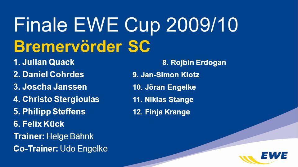 Finale EWE Cup 2009/10 Bremervörder SC