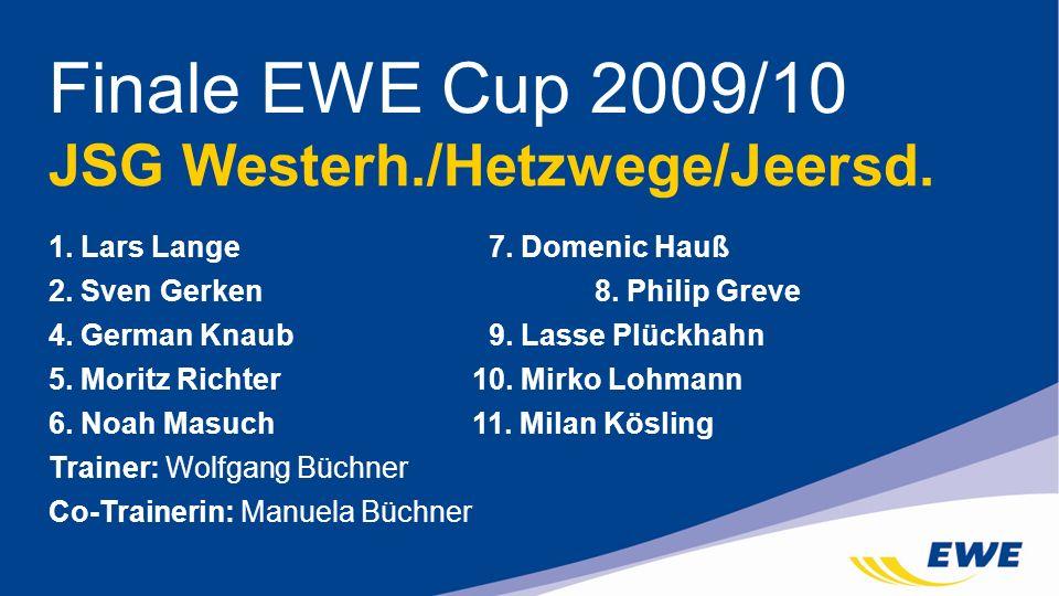 Finale EWE Cup 2009/10 JSG Westerh./Hetzwege/Jeersd.
