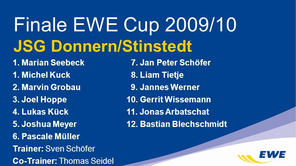 Finale EWE Cup 2009/10 JSG Donnern/Stinstedt