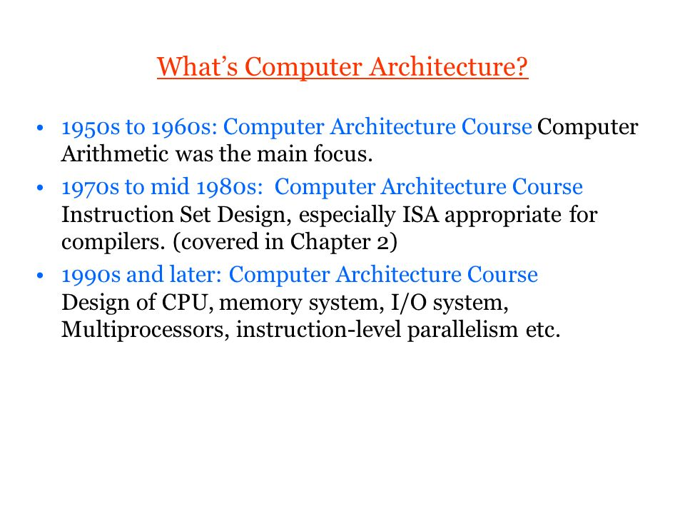 what is instruction in computer architecture