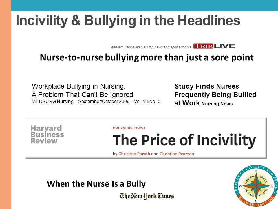 incivility in the workplace essay How rudeness takes its toll  25 per cent reported witnessing workplace rudeness  the spiraling effect of incivility in the workplace academy of management.
